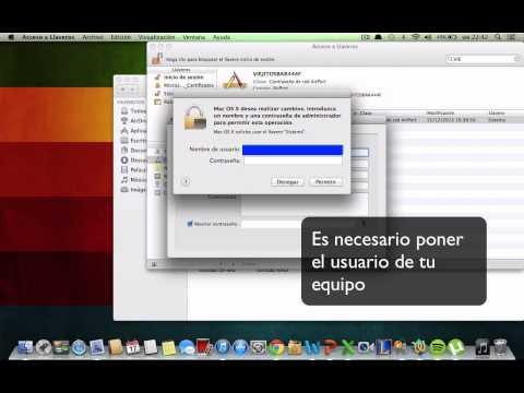 Como saber la contraseña de mi red en Mac