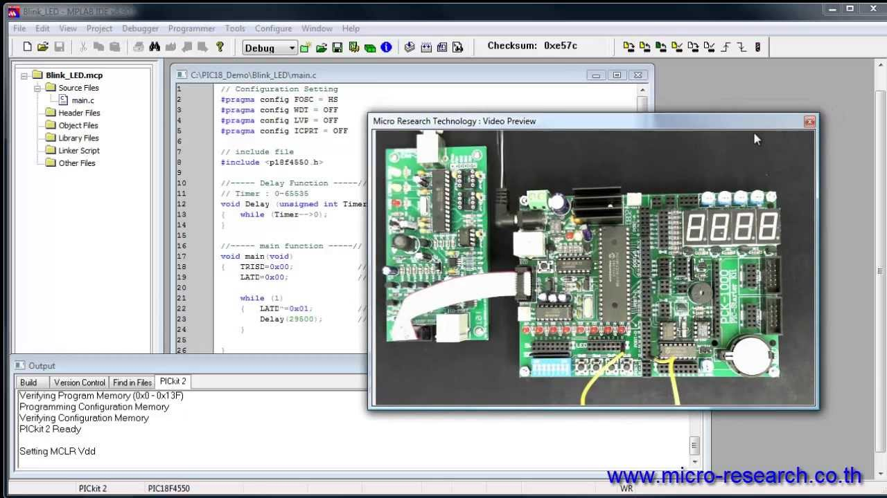 How to program/burn a microcontroller step by step tutorial.