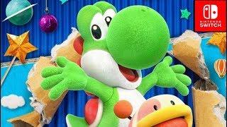 Yoshi's Crafted World DEMO Gameplay (Nintendo Switch)