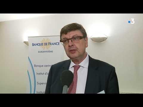 Economie : l'interview de François Sauvage, directeur de la Banque de France pour le Doubs