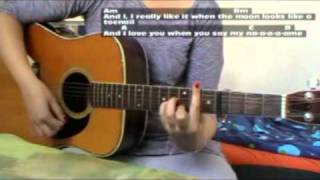 """How to play """"Introducing Me """" (Camp Rock 2) on Guitar - Tab & Chords"""