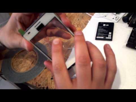 Разборка и ремонт LG L5 E612.