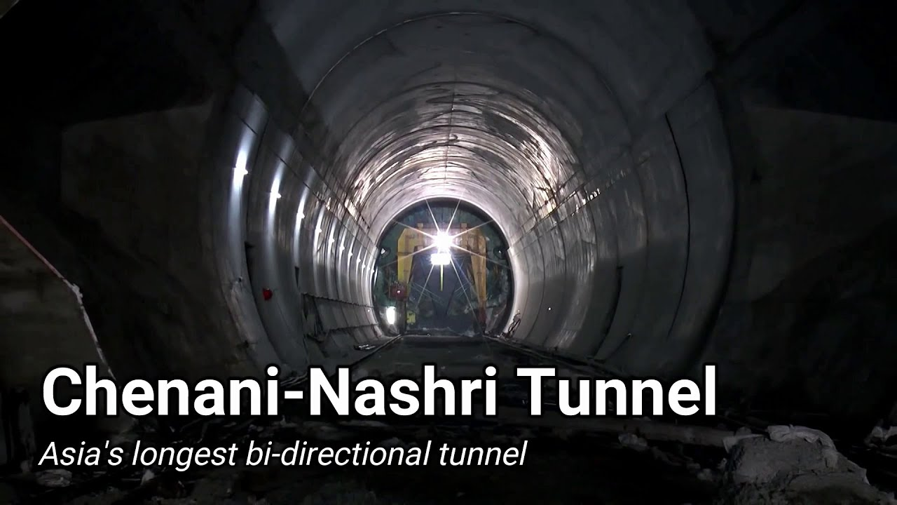 India's CN tunnel - Asia's longest bidirectional tunnel
