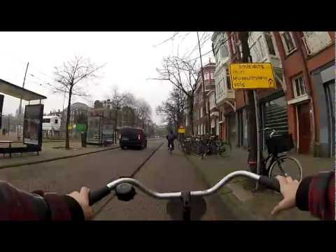 Walking around Amsterdam a GoPro HD Hero 2 EDIT- Timelapse/Slow-motion