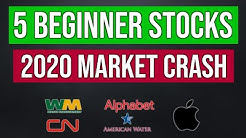 5 Stocks For Beginners To Buy In The 2020 Stock Market Crash