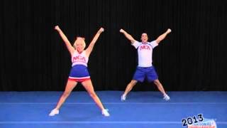 NCA 2013 Int. Tryout Cheer #2