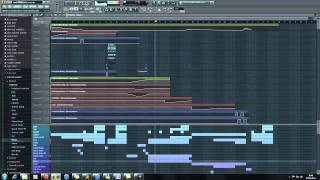 FL Studio 10 - Club Dance/Trance Beat 720p HD