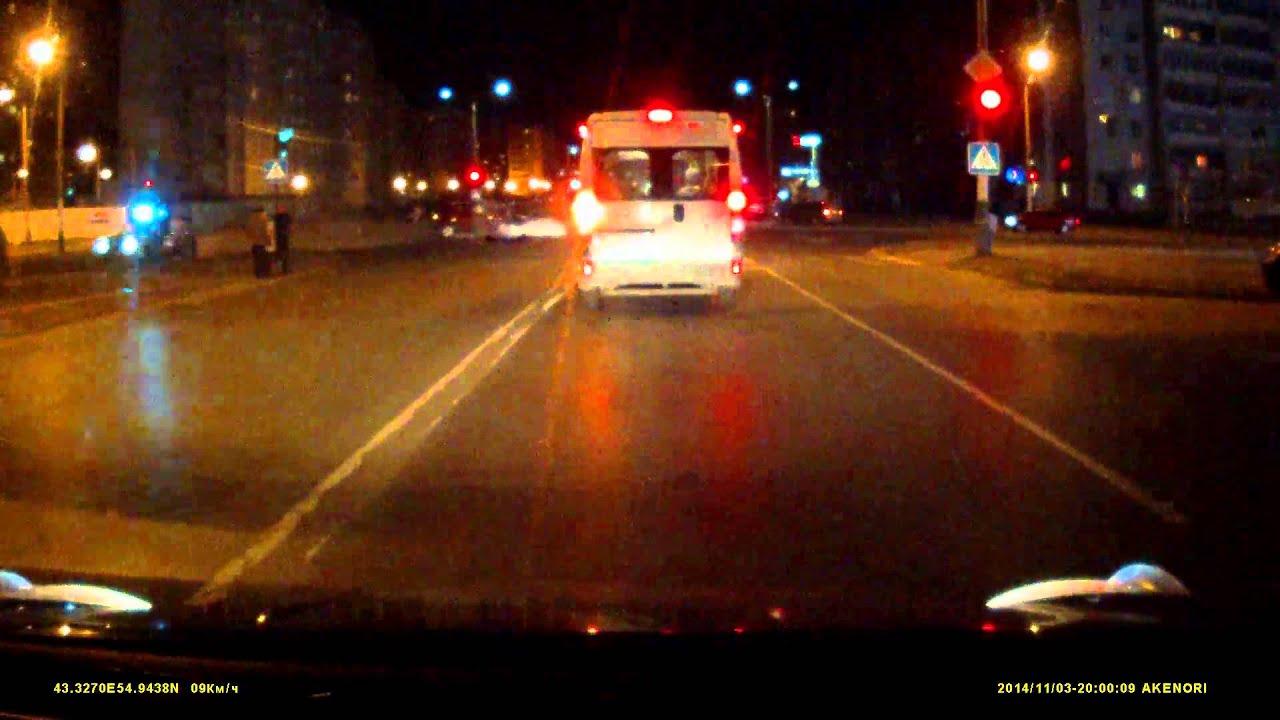 В Сарове полицейские протаранили авто своего начальника