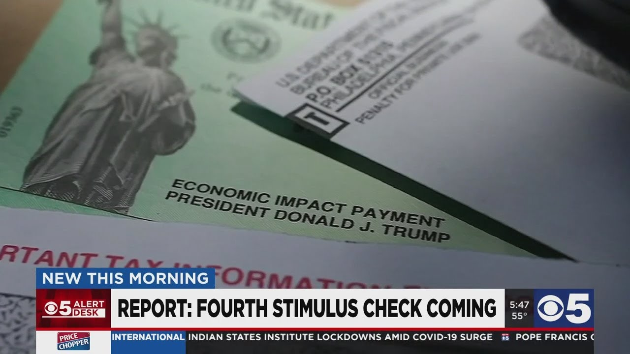 Report: A fourth stimulus check might be coming