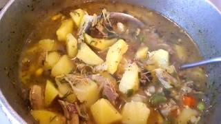 Картошка тушеная Рецепт быстрого приготовления