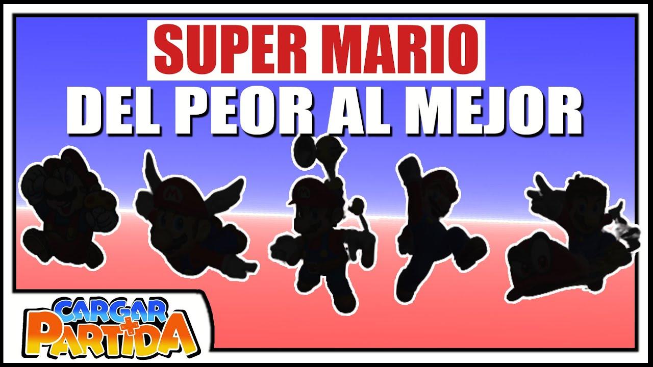 Ranking Super Mario: Del Peor Al Mejor    CARGAR PARTIDA
