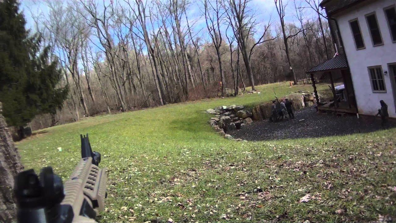 small backyard airsoft battle contour hd camera 1080p youtube