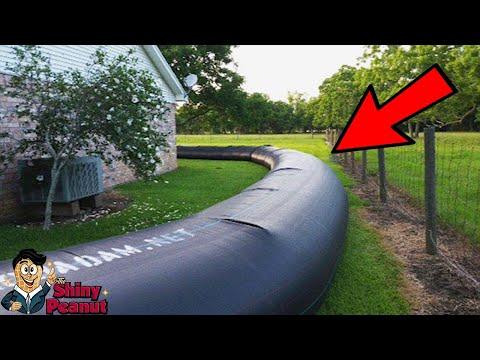 Awalnya Ditertawakan Tetangga Saat Memasang Pagar Air Ini, Tapi Ternyata?