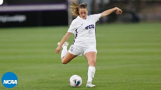 20 goals from the NCAA women's soccer third round