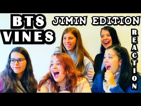 BTS VINES JIMIN EDITION Reaction [Please be careful with your ears]