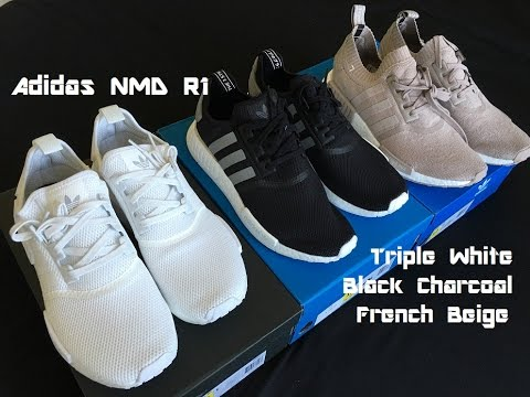 d14270995 Adidas NMD R1 Mesh and Primeknit Unboxing - YouTube