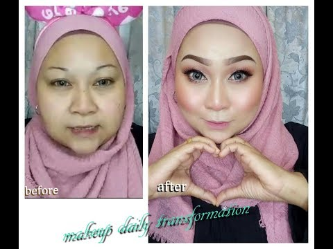 Amazing!! Before and after ~Makeup Daily transformation!!!