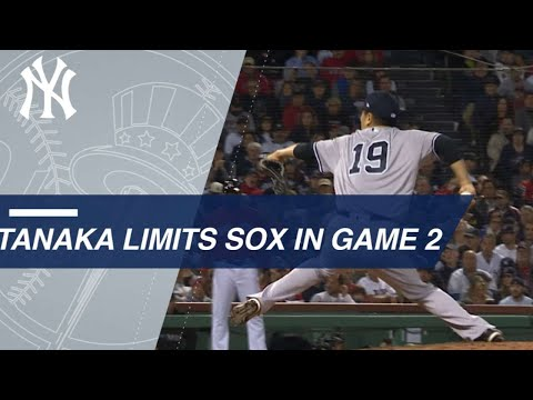 Extended Cut: Tanaka takes down the Red Sox