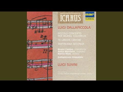 Liriche Greche I · Cinque frammenti di Saffo per una voce e Orchestra da Ca: No. 1, Vespro,...