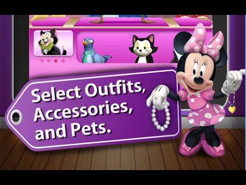 Minnie Fashion Tour Hd Disney Junior Clubhouse Games