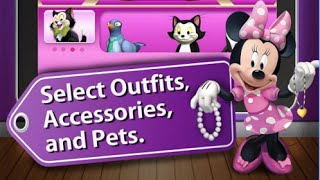 Minnie Fashion Tour HD Disney Junior Clubhouse Games Android İos Free Game GAMEPLAY VİDEO