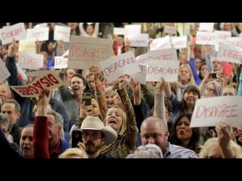 Tempers flare at Republican town hall in Utah