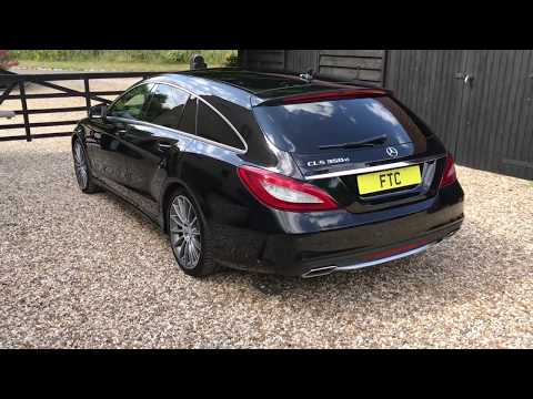 Mercedes CLS350d AMG Line Premium Shooting Brake - FTC Leasing X4/2234