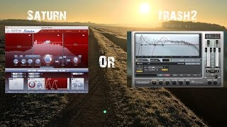 Fab Filter Saturn or Izotope Trash2 - Quick Basic Feature Comparison