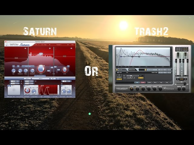 Fab Filter Saturn or Izotope Trash2 - Quick Basic Feature