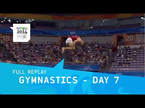Gymnastics -Men/Women Individual Finals Day 7 | Full Replay | Nanjing 2014 Youth Olympic Games