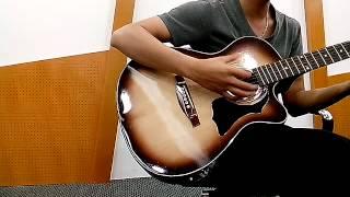 Chờ em trong đêm guitar