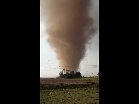 Tornado en San Pablo Autopan Toluca