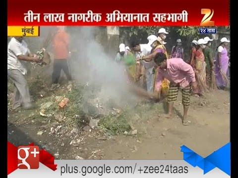 Mumbai : Nana Dharmadhikari Campaign For Swachh Bharat Abhiyan