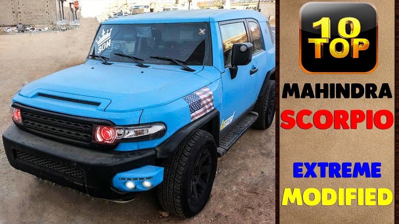 Modified Cars Series : Scorpio - YouTube