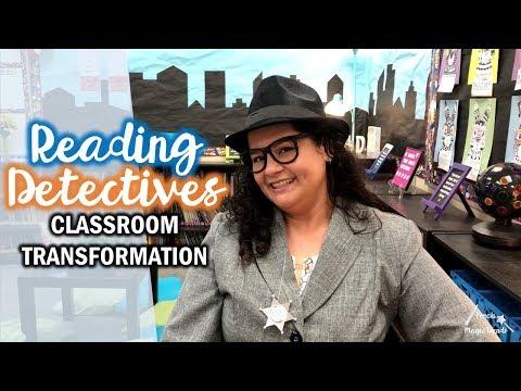 Reading Detectives Classroom Transformation | Teacher Vlog S1 E51
