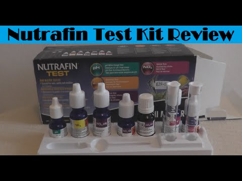 nutrafin mini master aquarium test kit unboxing review youtube. Black Bedroom Furniture Sets. Home Design Ideas