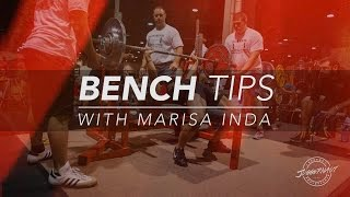 Bench Tips for Female Lifters with Marisa Inda-JTSstrength.com