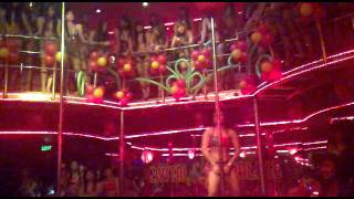 Pole dance competition:Crystal Palace