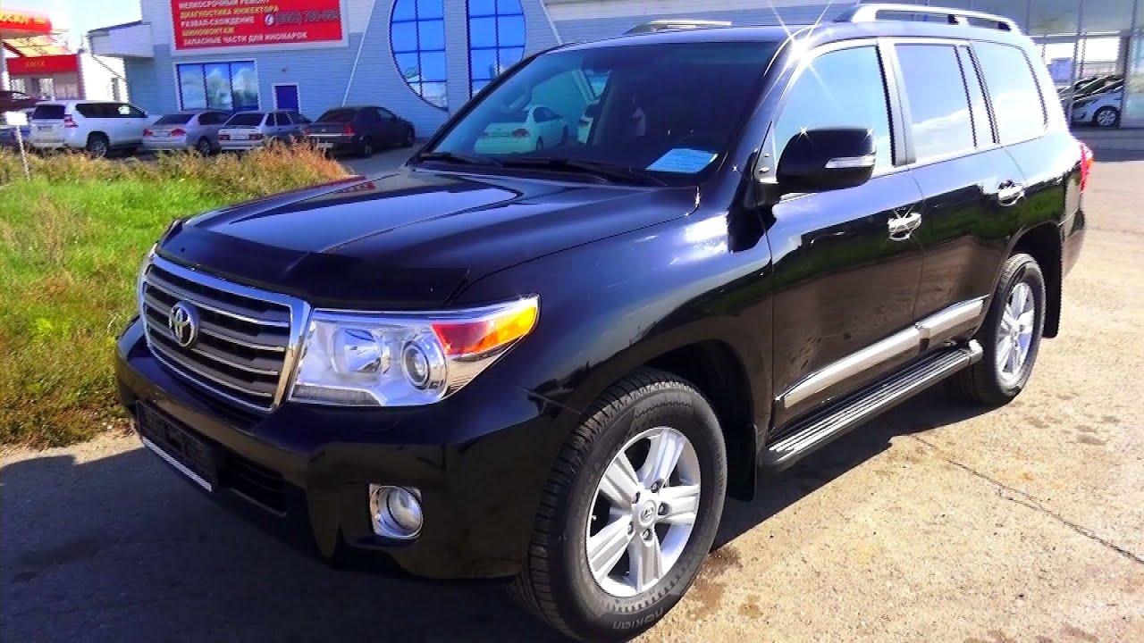 Great 2012 Toyota Land Cruiser 200. Start Up, Engine, And In Depth Tour.   YouTube