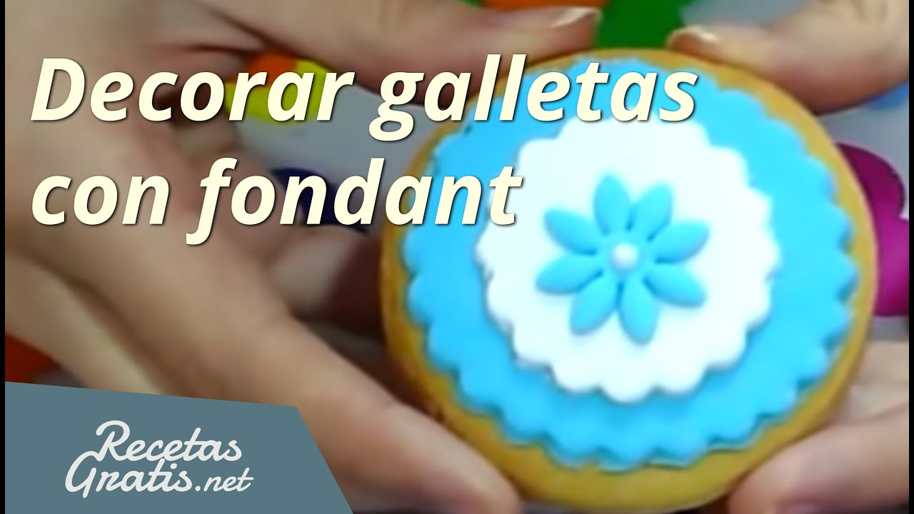 Como Hacer Pasta Para Decorar Galletas