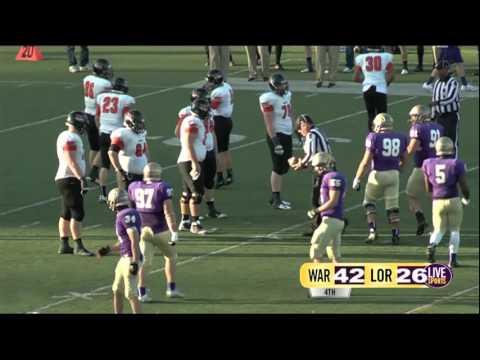 Live Sports Football Loras vs Wartburg - Play-by-play