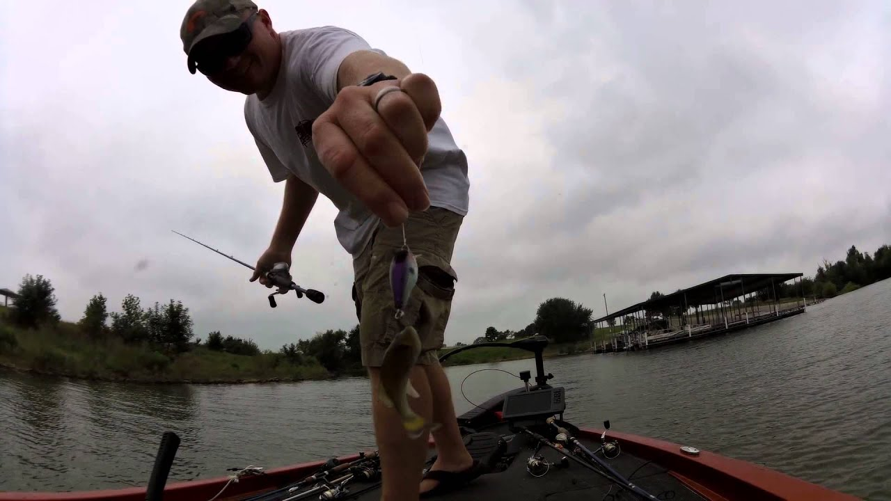 Melvern lake 8 6 2015 youtube for Melvern lake fishing report