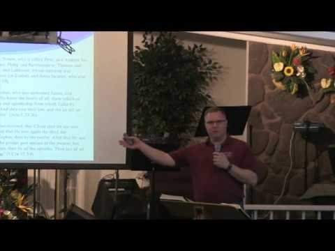 19 March 2017   Sunday Evening   Church Fathers Pt  2   Pastor Dan Jacobson