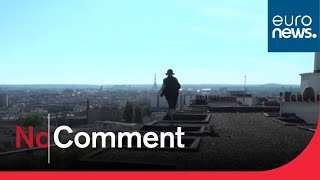 Freerun : il parcourt les toits de Paris en plein confinement