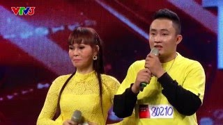 vietnams got talent 2016 - tap 7 - tiet muc nhay xuc dong cua cau con trai va nguoi me khiem thi