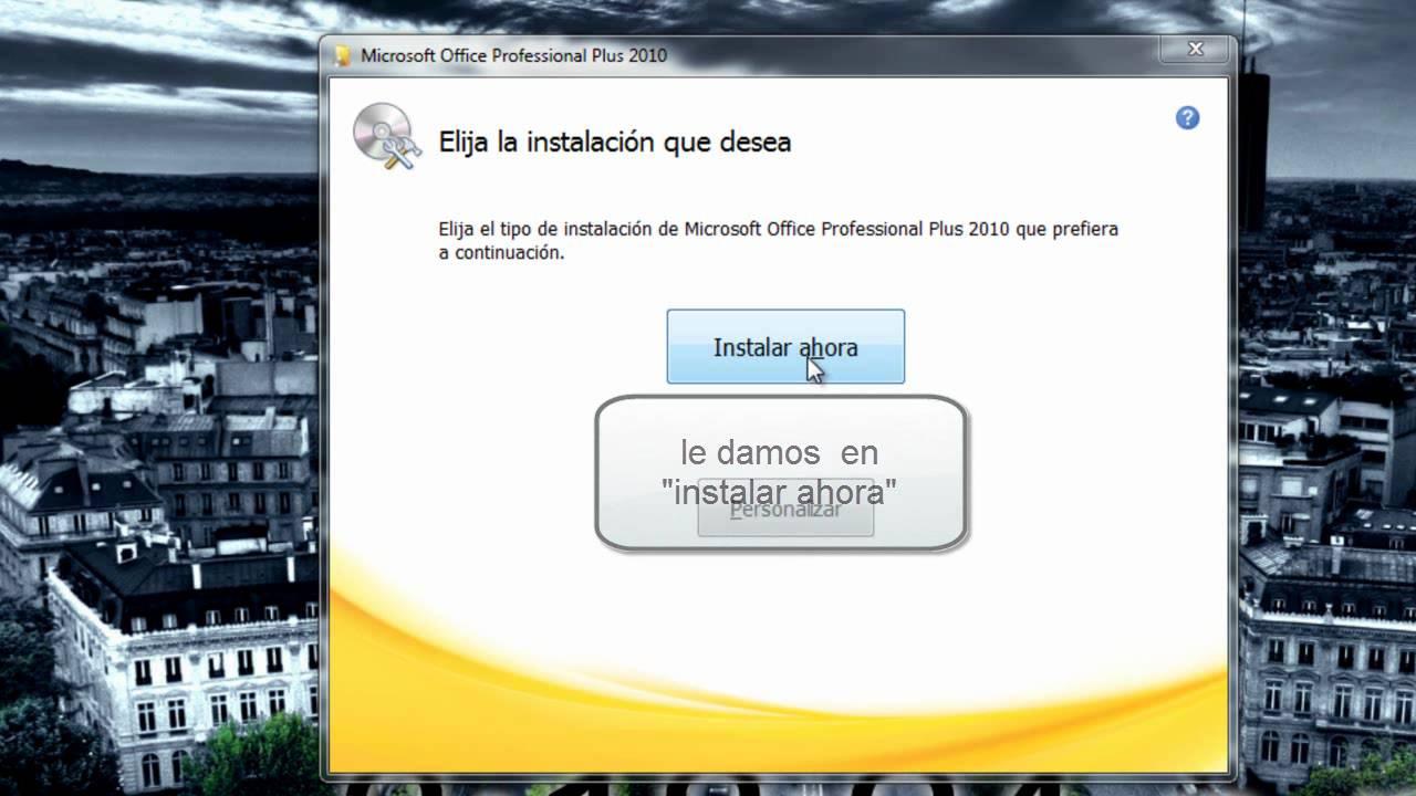 Descargar, instalar y validar el Microsoft of…