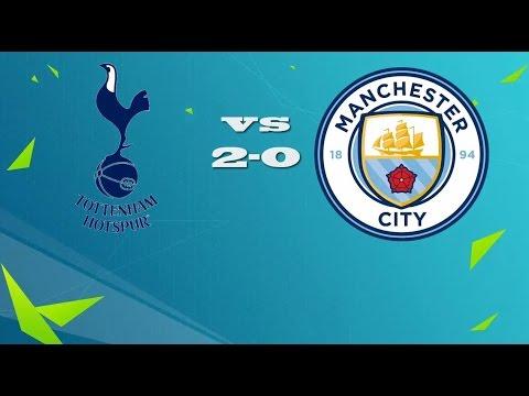 Tottenham Hotspur vs Manchester City 2- 0 | MATCH STATISTICS | 2/10/2016