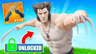 Unlocking *LOGAN WOLVERINE* in FORTNITE!
