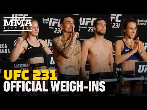 UFC 231 Weigh-In Highlights - MMA Fighting