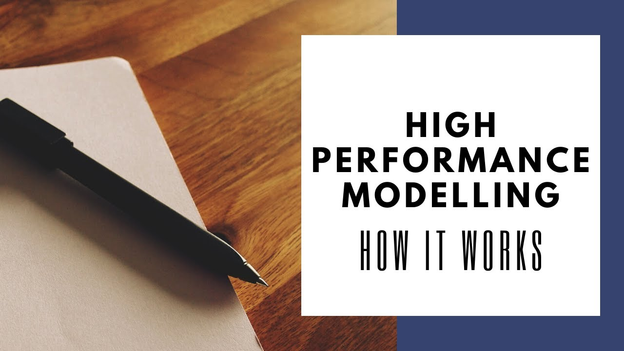 High Performance Modelling - SACS Consulting